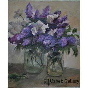 Букет сирени. A bouquet of lilac.